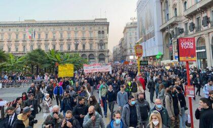 I commercianti di Milano non ne possono più dei cortei No Green pass